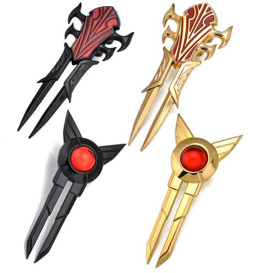 Zed Blade Design Types 1