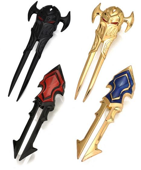 Zed Blade Design Types 2