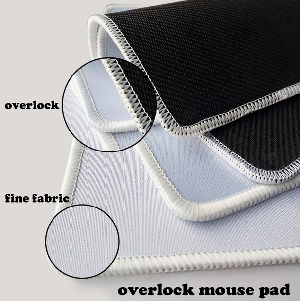 Notice the overlock. It provides an extra layer of protection to prevent wearing.
