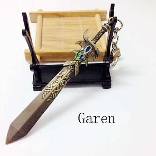 Garen Sword Weapon Keychain