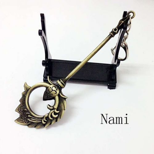 Nami Spear Pendant Sword Weapon Keychain
