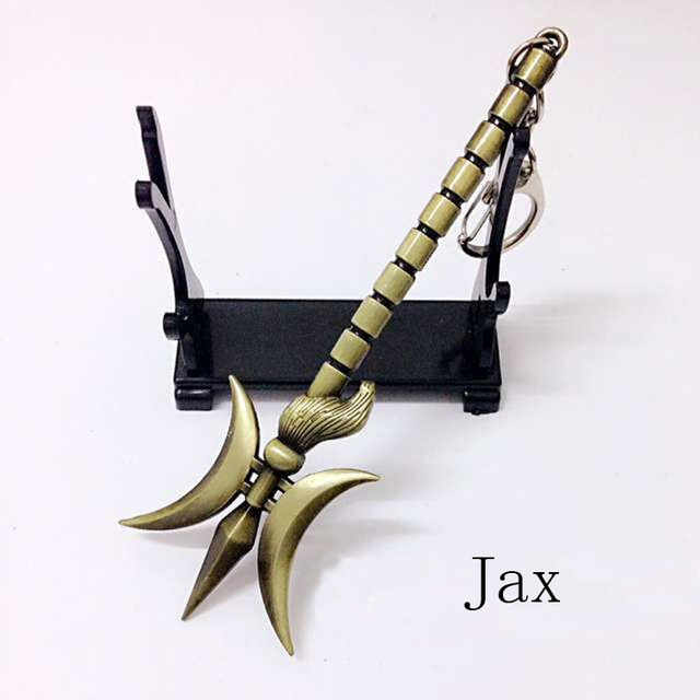 League Of Legends Jax Weapon Keychain Epicaccountstore