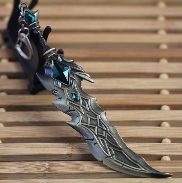 Tryndamere Original Sword Keychain 3