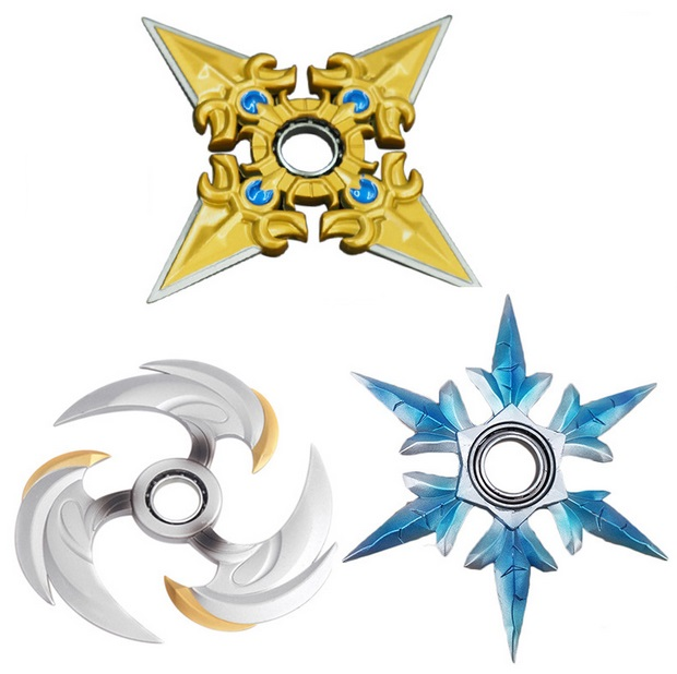 Several Weapon Fidget Spinners