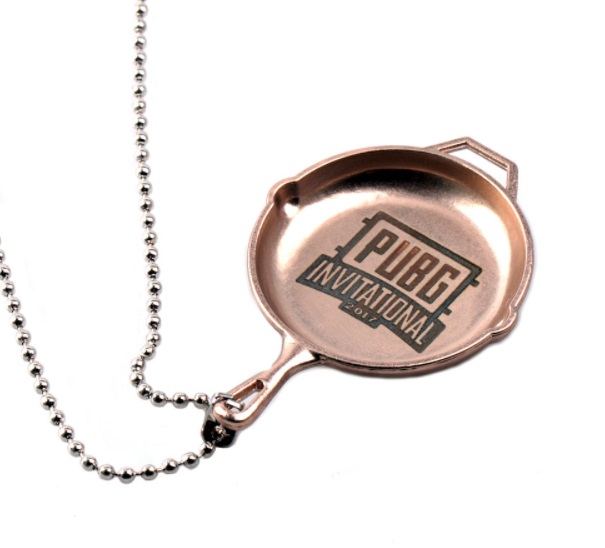 PlayerUnknown's Battleground Logo Keychain And Necklace ...