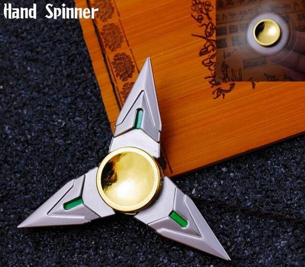 Zed Gold Shuriken Fidget Spinner
