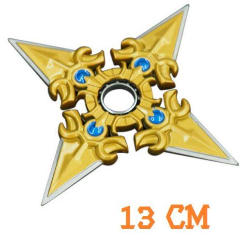 Gold Sivir Boomerang Fidget Spinner