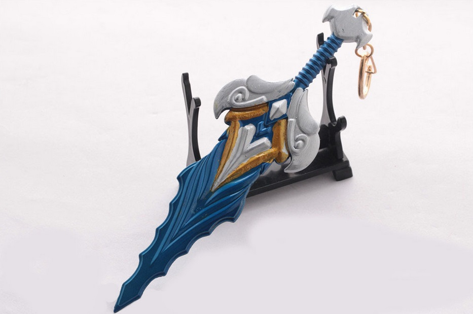 Championship Riven Sword Weapon Keychain 2