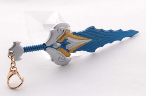 Championship Riven Sword Weapon Keychain 4