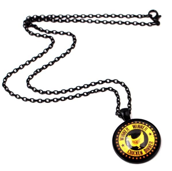 PUBG Pendant Black Yellow Winner Winner