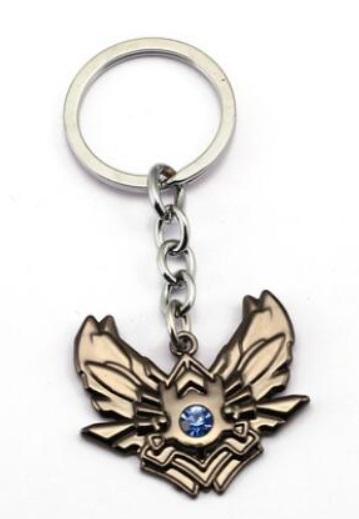 Diamond Division Badge Keychains