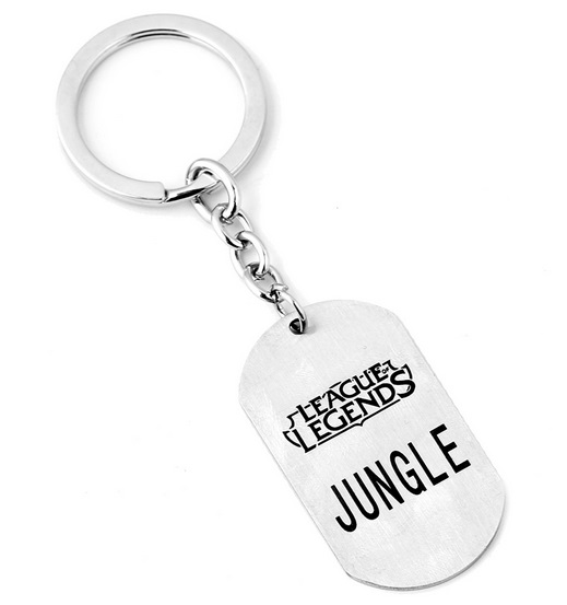 Jungle Role Keychain