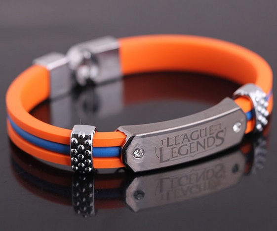 League Of Legends Bracelets Orange