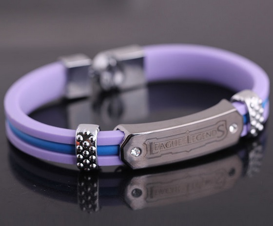 League Of Legends Bracelets Purple