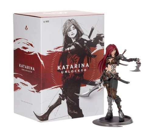 Box Classic Katarina Action Figure