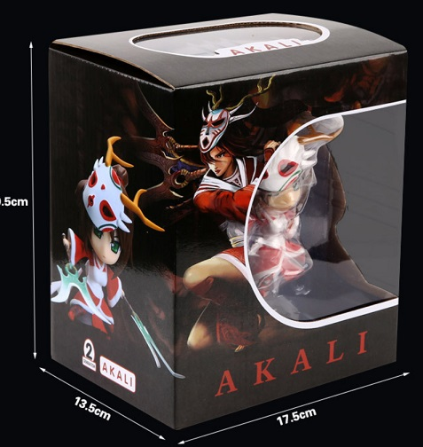 Box Akali Action Figure