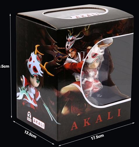 Box Akali Action Figure
