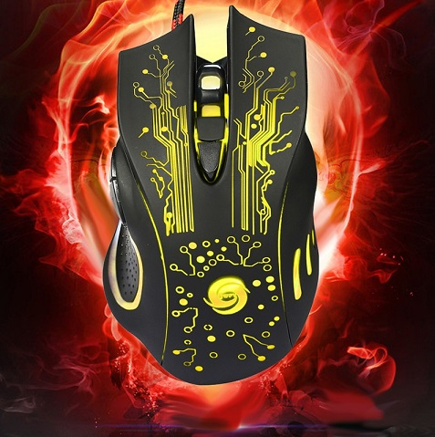 Vakind Gaming Mouse LED 4