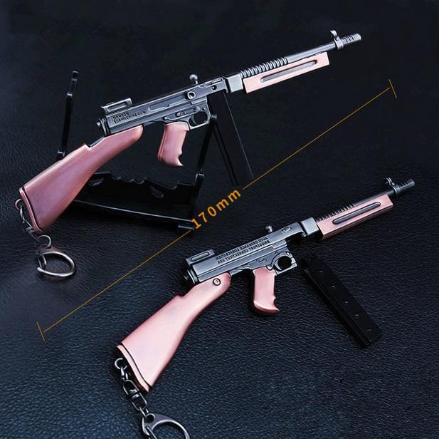 PUBG Tommy Gun Keychain