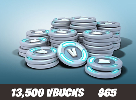 13k vbucks for only $65!