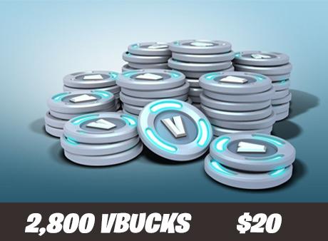 2.8k vbucks for $20!
