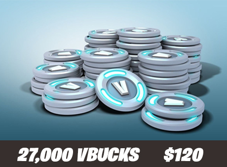 27000 V-Bucks For Only $120
