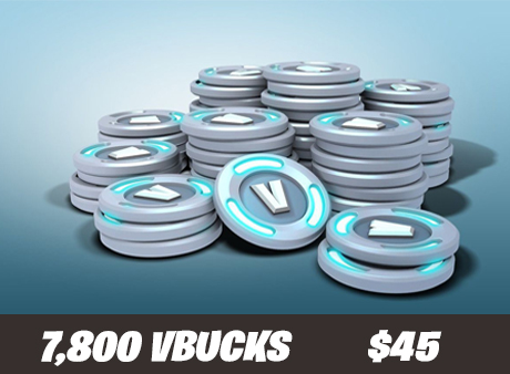 7.8k vbucks for only $45!