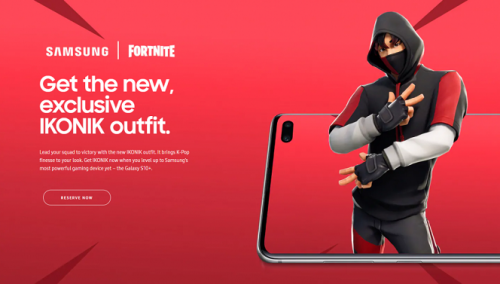 Fortnite Ikonik Set Service
